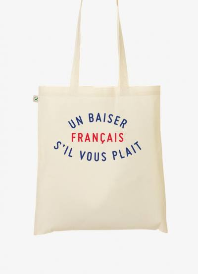 tote bag french kiss